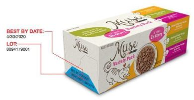Purina Muse Wet Cat Food Recall