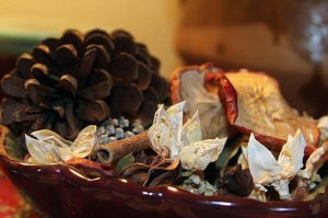 Keep Potpourri away from Pets