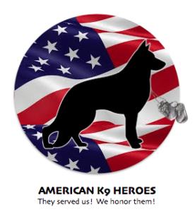 American K9 Heroes Logo