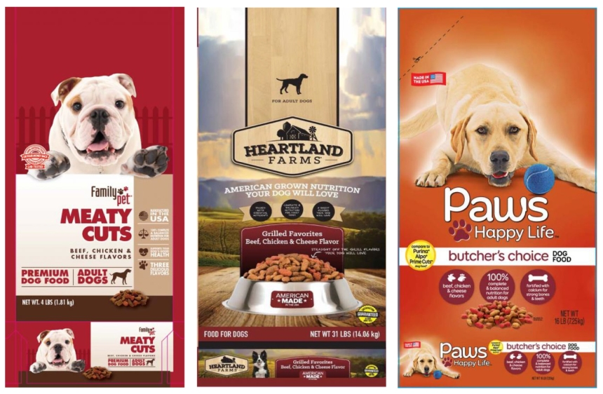 Recalled Dog Food from Sunshine Mills, Inc.